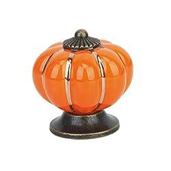 Pumpkins Knobs Handles Ceramic Door Handles Cabinets Cupboard Drawer