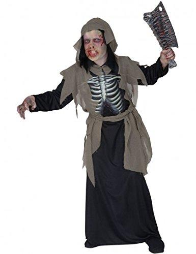 Kinder-Kostüm-Set Düsterer Zombie, Größe 128