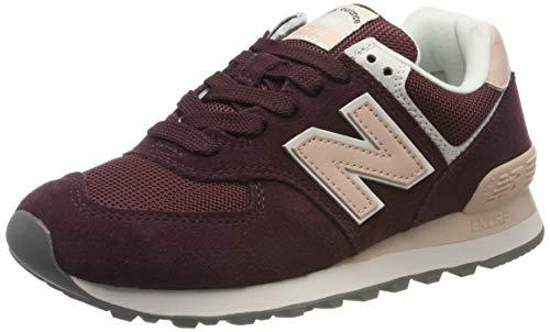 New Balance 574v2, Zapatillas para Mujer, Rojo Red Red, 37.5 EU