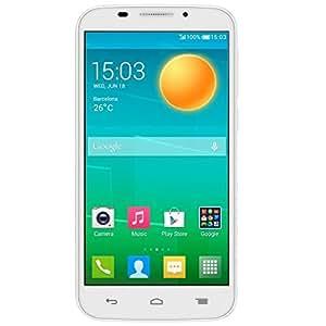 Alcatel POP S7 7045Y martphone 4G débloqué 5 pouces Android 4.4 KitKat 4Go Blanc