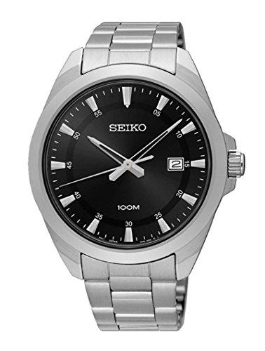 Seiko Herren-Armbanduhr SUR209P1 (Seiko Uhr Silber-herren)