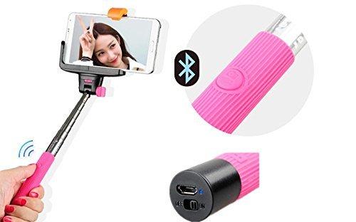 Wert Schöpfern erweiterbar Selbstporträt Wireless Bluetooth Fernbedienung Schießen Shutter Einbeinstativ Handheld Stick Stange mit Halterung Speziell entworfen für iPhone 65S 5C 54S 4Samsung Galaxy Mobile Handy