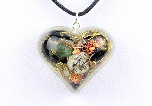 "Orpanit® Orgonit Amulett ""Heart"" (Prana Herz)"