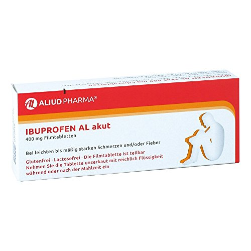 Ibuprofen AL akut 400mg 20 stk