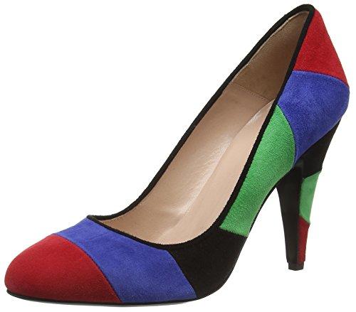 Moschino Damen Scarpad.lina100 Cam.multicolore Bombas Multicolor (99a)
