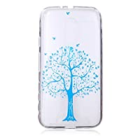 For Moto G3 Case, Motorola G3rd Generation Case [With Tempered Glass Screen Protector],idatog(TM) Soft Silicone Bumper Ultra Thin Slim Flexible Cover Case ,High Quality TPU with Colorful Cute Printed Pattern Fashion Design Protective Back Rubber Case Cove