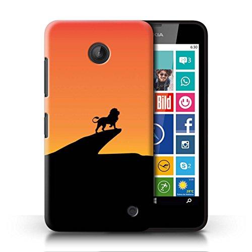 Stuff4 Coque de Coque pour Nokia Lumia 635 / Lion Inspiré Design/Art Film Minimaliste Collection