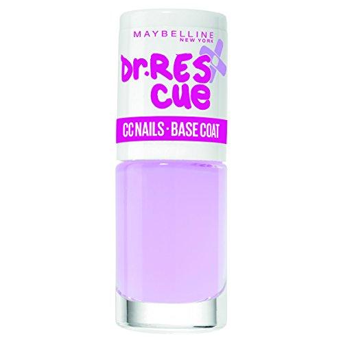 Maybelline Dr. Rescue CC Nails Base Coat, Unterlack, hellt die Nägel optisch auf, schützt vor...