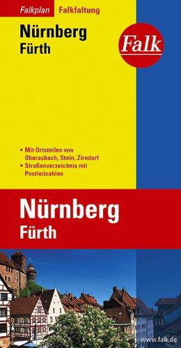 Falkplan Falk-Faltung Nürnberg / Fürth