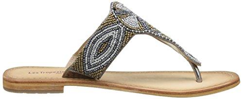 Les Tropéziennes par M. Belarbi Damen Melody Flip-Flops Braun (Bronze Multi)