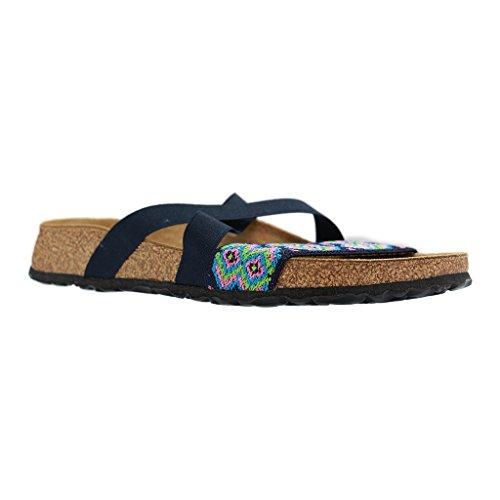 Papillio By Birkenstock-Cosma Donna Stretch Flat sandali azteco blu, blu (Aztec Blue), 40 EU