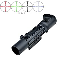 Eagle Eye Lunette De Visée 2-6x28ET Rifle Scope R G B Multi 128698d40037