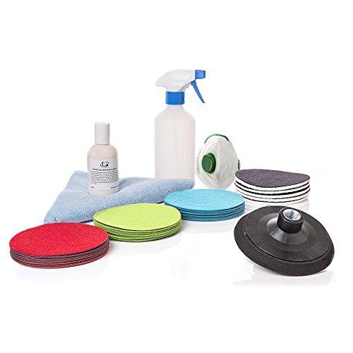 Glas Reparatur, Glas Kratzer Kratzer Entferner, Glas Polieren und Mahlwerk & wellder Splatter Schäden Reparatur, gp-wiz System