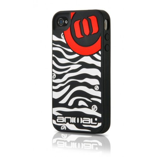 Contour Design Animal Zebra Silikon Schutzhülle für iPhone 4 Contour Design Iphone