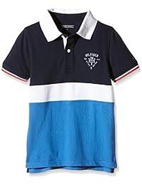 TOMMY HILFIGER KIDS Colorblock Polo S/S, T-Shirt Garçon