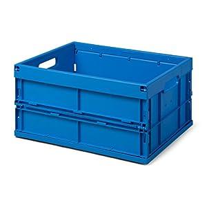 Faltbox / Klappbox FB 475/240-0, 32 liter, 475x350x240 mm (LxBxH), blau, Industriequalität