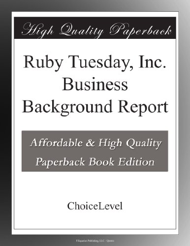 ruby-tuesday-inc-business-background-report