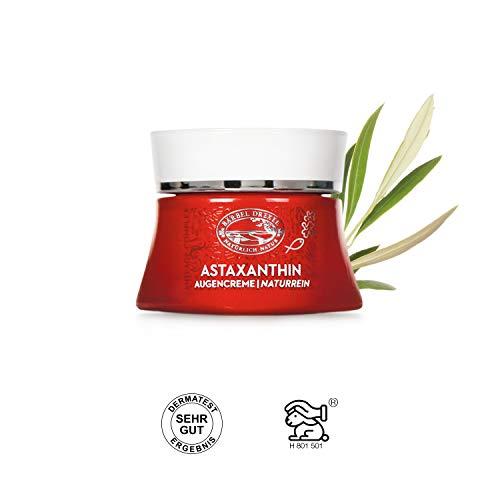 BÄRBEL DREXEL Astaxanthin Augencreme (15ml) 100% Vegane Herstellung Deutschland Naturkosmetik Anti Aging Creme Frauen
