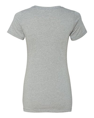 Next Level - T-shirt - Femme Gris - DARK HTHR GRAY