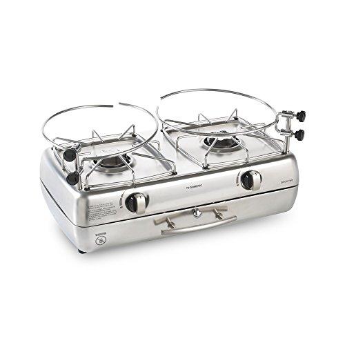 Preisvergleich Produktbild Dometic ORIGO Two,  freistehender Spiritus-Kocher,  kompakt,  für Boot,  Wohnmobil oder Camping-Küche,  2-flammig