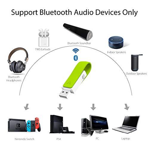 Avantree Leaf, USB Bluetooth 4 1 Audio Adapter Dongle Stick