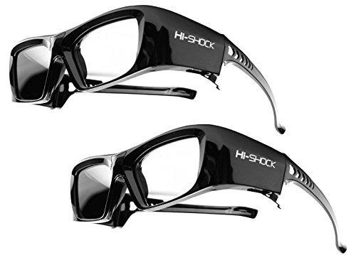 2x-hi-shockr-bt-pro-black-diamond-smart-attivi-occhiali-3d-per-hd-4k-3d-tv-s-di-sonyr-samsungr-panas