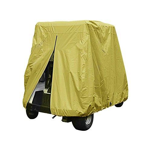 Cleana Arts Golf Cart 2 Passenger Club Auto EZ Go Yamaha wanmei EzGo Golf Cart Cover Gehäuse verlängerter UV-Schutz Wasserdicht Staubdicht widerstandsfähig, 275 cm Länge x 122cm Breite x 168 cm Höhe.(60L) (Yamaha Golf Cart Gehäuse)
