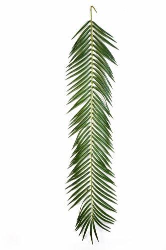 artplants Künstlicher Phönix Palmwedel, 125 cm – naturgetreuer Kunstwedel/Künstliche Palme