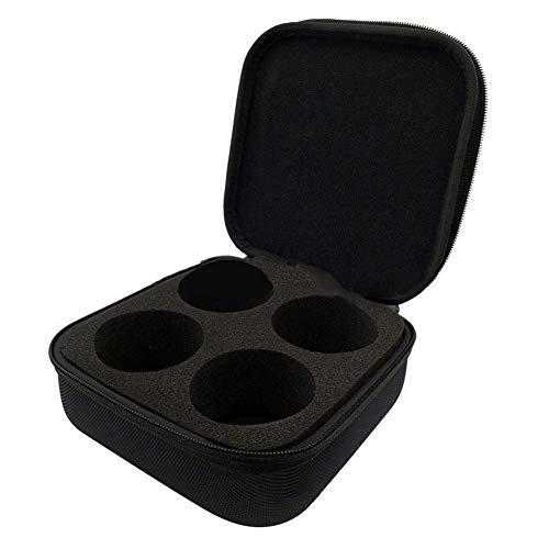 Ingeniously Handtasche, Tragetasche für Tesla 3 Chassis Lifting Jacket Pad, Eva Boutique Aufbewahrungstasche für Jack Lift Point Pad Adapter Aluminium-Schutzhülle Pad Handtasche -schwarz