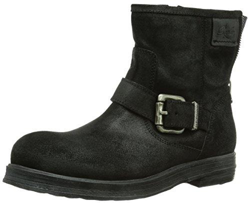 REPLAY Kiyo Damen Biker Boots Schwarz (BLACK 3)