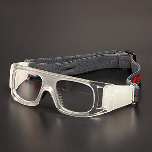 fussball sportbrille Stoßfeste Sport-Brille für Fußball-Sport, Fußball, Schutzbrille der Schutzbrille des PC-Objektivs für Erwachsene