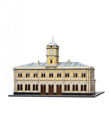 Keranova keranova356 Clever Papier historischen Gebäude nikolayevsky Bahnhof 3D Puzzle, Maßstab 1:250