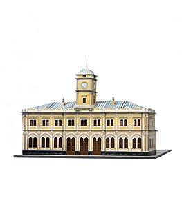 Clever Paper-Keranova356 Histórico Edificios Nikolayevsky Estación De Tren Puzle 3D, Keranova_356