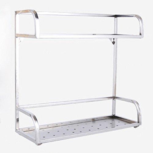 HWF Etagères de cuisine Étagères de cuisine en acier inoxydable étagères de plancher étagères étagères ustensiles de cuisine fournitures ( taille : 30cm )