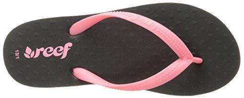 Reef - Little Chakras, Sandali Unisex – Bimbi 0-24 Multicolore (Varios colores (Black / Pink))