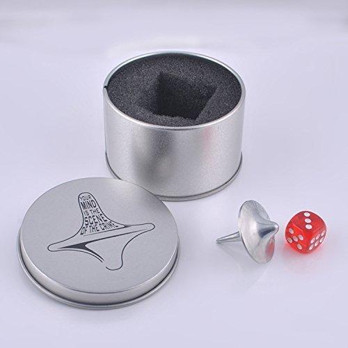 Inception Präzise Kreisel Gyro Zink Legierung Silber (Inception Kreisel)