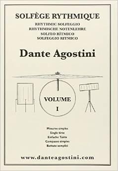 Solfège rythmique - cahier n° 1