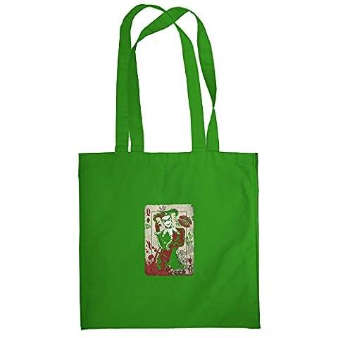 TEXLAB - Harley Queen - Stoffbeutel, grün (Spiderman Kostüme Designs)