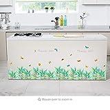 Xqi wangpu 3D Schmetterling Frische Baseboard PVC Wandaufkleber Sockelleisten Kinder Wohnzimmer Schlafzimmer Badezimmer Küche Fenster Balkon Wohnkultur