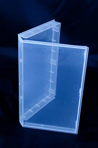 VHS Video-Kassetten Hülle, Buchhülle transparent, transparent (20 Stück)