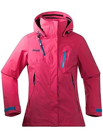Bergans - Tyin Insulated Lady Jacke, Farbe Hot Pink/Dp Sea/Br