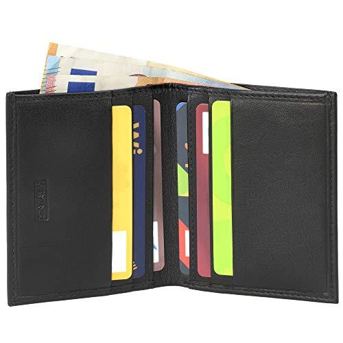 Heming / Cartera piel minimalista tarjetas billetes