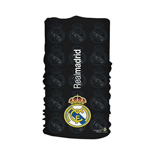Wind Xtreme 1505 Madrid Black - Neck Warmer, Unisex, mehrfarbig, Einheitsgröße (Real Madrid Stirnband)