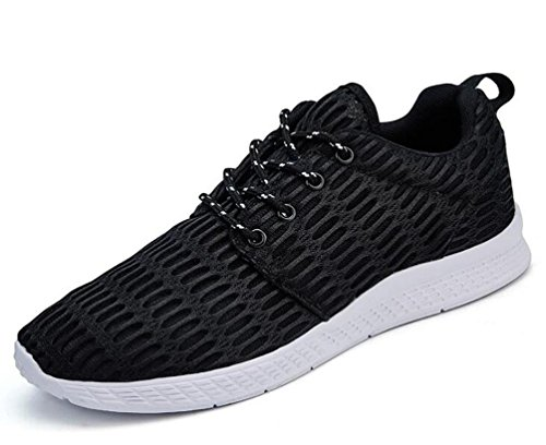 Mesh Lightweight Running Klettern Tennis Athletic Komfortable Lace-up Herrenschuhe EU Größe 35-48 Black