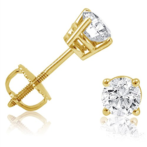 14k-oro-amarillo-1-2ct-tw-diamante-redonda-pendientes-de-tuerca-con-screw-backs-igi-certificado