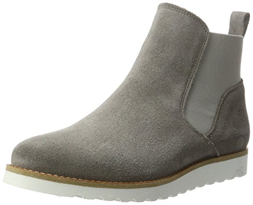 Apple of Eden Damen Jenny Chelsea Boots Grau (Taupe)