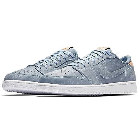 NIKE Air Jordan 1 Retro Low OG Premium mens basketball-shoes 905136-402_7.5 - Ice Blue / Vachetta