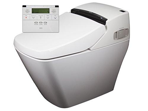 Preisvergleich Produktbild 2x Dusch-WC VOVO PB707S Sparpaket Spülrandlos Rim free Tornadoflush Washlet Intimdusche Analdusche Toilette Komplettsystem Dusch-Toilette