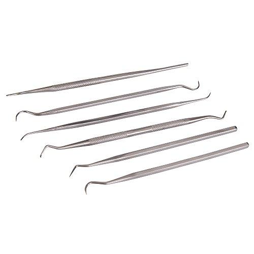 Silverline 415070 Picks, Hooks & Probes 6-Piece Set