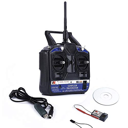 Robocraze Flysky CT6B Remote 6 Channel Transmitter and Receiver for Quadcopter.
